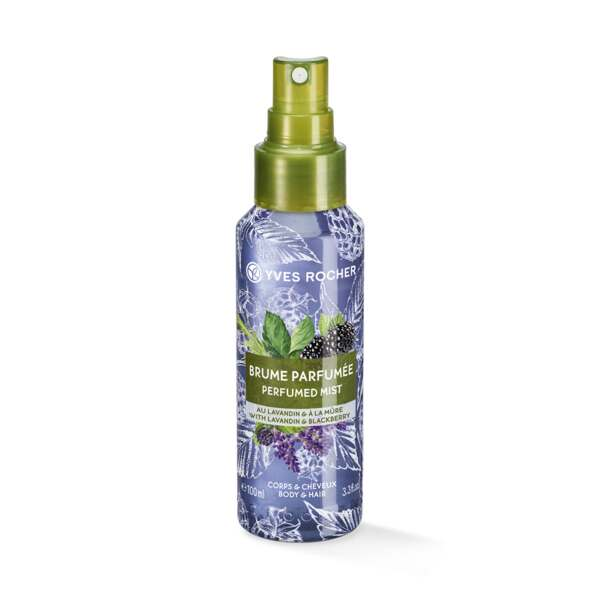 Body and Hair Mist perfume Lavandín y Mora