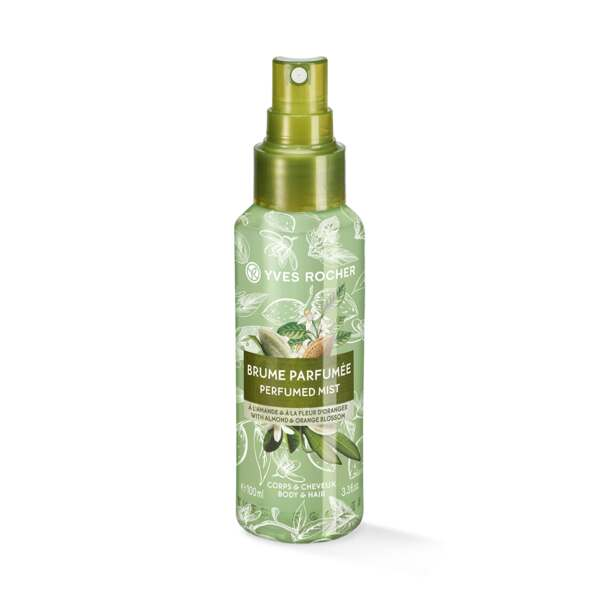 Body and Hair Mist perfume Almendra y Flor de Azahar