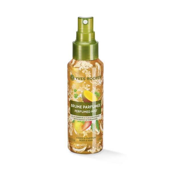 Body and Hair Mist perfume Mango y cilantro